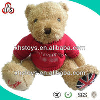 Popular Cute Soft Toy Knitted Teddy Bear Sweaters