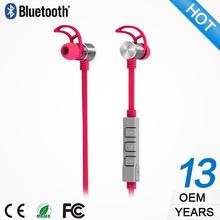 BS052RU alibaba express china motorcycle helmet bluetooth headset intercom metal earphone
