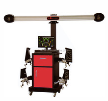 Double displays computerised 3D precision wheel alignment car wheel aligner with CE and ISO from ATPARTS