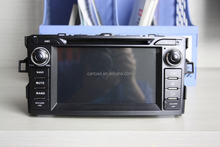 8in Touch screen android 2 din dvd car for Toyota Corolla 2012 with GPS, ipod, Wifi, ATV, 3g, mirror link functions