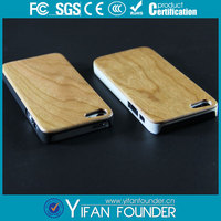 deluxe stylish 2014 new fashion wooden natural case for iphone 5 5s