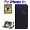 Wholesale Alibaba Mobile Phone PU Flip Wallet Cellphone Case for iPhone 6s