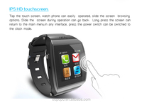 hot sale new watch mobile phone 1.55'' touch screen with bluetooth,mobile phone