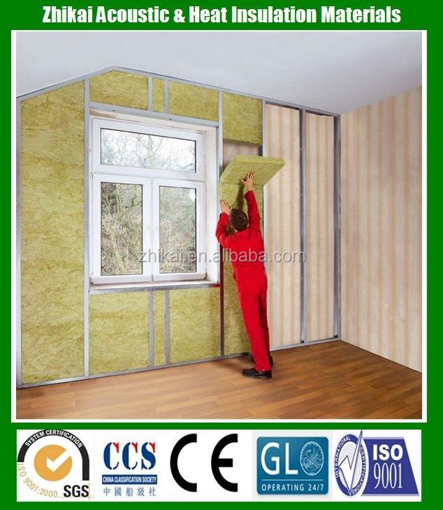Interior decorative materials wall insulation rock wool buy wall insulation rock wool interior - Interior insulating materials ...