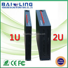 Quad band can use in every country 2U Ethernet RJ45 GSM GPRS q24plus 16 port sms modem pool