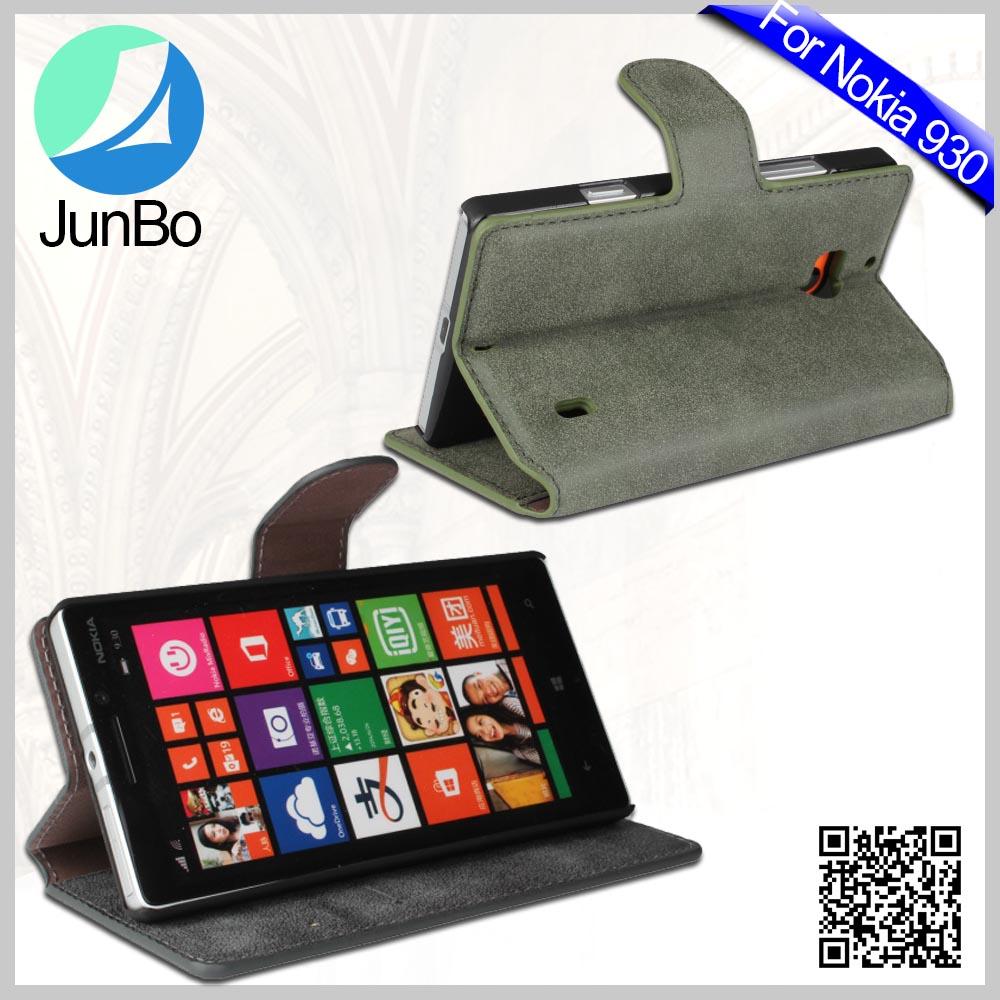 Горячие Продаж Водонепроницаемый Телефон Чехол для Nokia 930, Флип Кожаный Чехол для Nokia Lumia 930