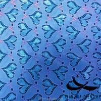 210Dnylon 140Dlycra peach heart factory price stretch lace fabric