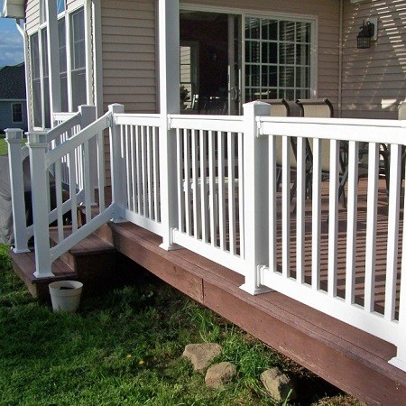 New Plastic Handrail Vinyl Decking Rail Vrd200 42x72 Buy