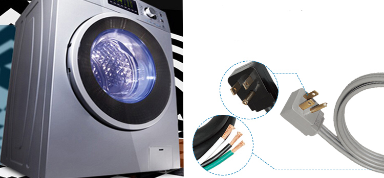 Высокая стоимость эффективных 100% медь 13A 12FT силовой кабель провод