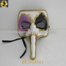 White Plasitc Venetian Carnival Masks