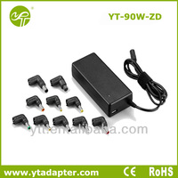 90W universal auto ultrabook charger adapter use for home use netbook charger adapter