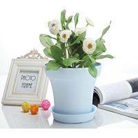 Garden Decor plastic tall glass vase for flower arrangements