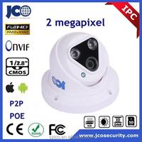Low illumination 1080P half dome p2p ip network camera module