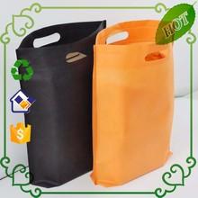 Fashion design pp non woven shopping bag Fashion d cut nonwoven bag Fashion color printed nonwoven tote bag