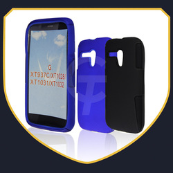 Hard Case for Motorola G DVX XT1032 Hybrid Silicone+PC Dual Layer Protective Phone Cases