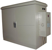 DDTE014 Outdoor Thermostatic Battery Enclosure With Thermostatic Cabinet, Air Conditioner And Controller
