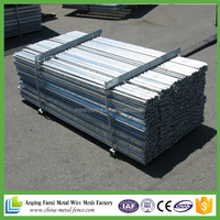 alibaba china painted metal Y style fencing post for sale / Y post