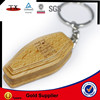 wood keyring coffin keychain
