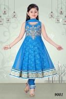 Latest Kids Anarkali Churidar For Eid
