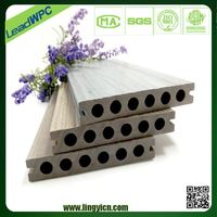 new model used composite decking material flooring cheap external