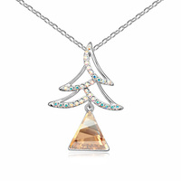 2015 best gift Chirstmas tree necklace