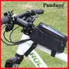 Waterproof Bicycle Front Tube Bag for Mobile Phones