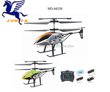 rechargeable DIY 4 channel multifunction remote control helicopter with light