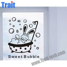 Cute Rabbit Switch Protection Cover Light Switch Sticker Wall Decor Decals Art Mural Baby Nursery Room