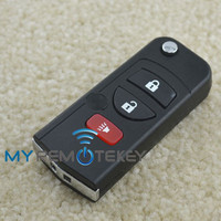 New style remote key 3button 315mhz NSN14 for Nissan remote flip car key