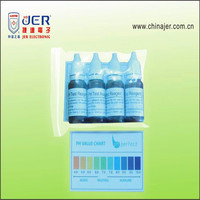 best price ph test drops liquid with color chart