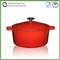 Cast iron pot set mini cooking pot new products chinese hot pot enamelware