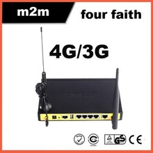 F3836 Remote Access to 4G LTE Router 4G Wireless Router Integrated WiFi,LAN,WAN,VPN,SIM Slot