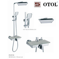 Bathroom Home Depot OT-214114 useful shampoo holder design brass shower faucets