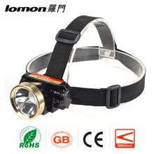 Lomon 200 Lumen High Power Ultra Bright Led Flashlight Hiking Headlamp