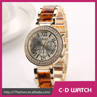 Hot Selling Business Stainless Steel Casual Geneva Wristwatch Luxury Brand quartz stainless steel case back watch XR1088