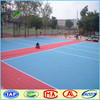 Outdoor plastic material anti-slip volleyball court flooring