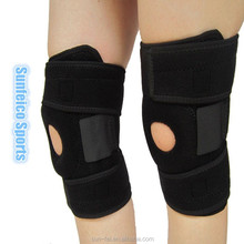 MOQ:10pcs!!! Hot!!! Sports Protection Knee Support~Adjustable Leg Cap Brace Wrap Protector Pads Sleeve Cap Safety Leg Brace