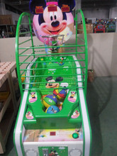 2014 China basketball arcade game machine, electronic basketball scoring machine