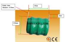 3.6V 80mAh Ni-MH BUTTON CELL battery 3.6V 80mah NI-MH rechargeable button battery pack 3.6V 80mAh Rechargeable Ni MH Battery