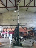 30m high mast lighting pole telescopic antenna mast pole