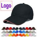 la moda de deporte logotipo personalizado sombrero gorra de béisbol