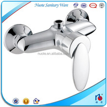 china factory exposed wall mounted bathroom shower faucet copper
