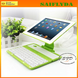 New arrival For Ipad rotating Cover PC Case with Bluetooth keyboard Case for sale