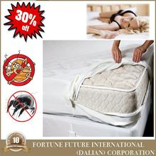 Multifunctional bed bug proof terry cloth mattress protector/mattress cover/fitted sheet with great price