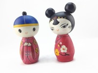 Collectable Chinese Wooden Dolls