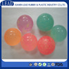 Custom-made different colors silicone rubber ball with holes