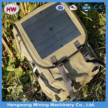 enviroment-friendly durable solar backpack