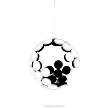 New!! Hot sell Paraselene/ Moon Aluminium+ Acrylic Ball Pendant for home, bar, cafe, hotel PLP8023