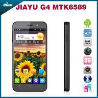 NEW 4.7inch Jiayu G4 Quad Core Smartphone MTK6589 1.2GHz IPS Screen 1280x720px 1GB RAM 4GB ROM WCDMA