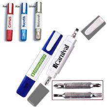 pen shape mini screwdriver with clip